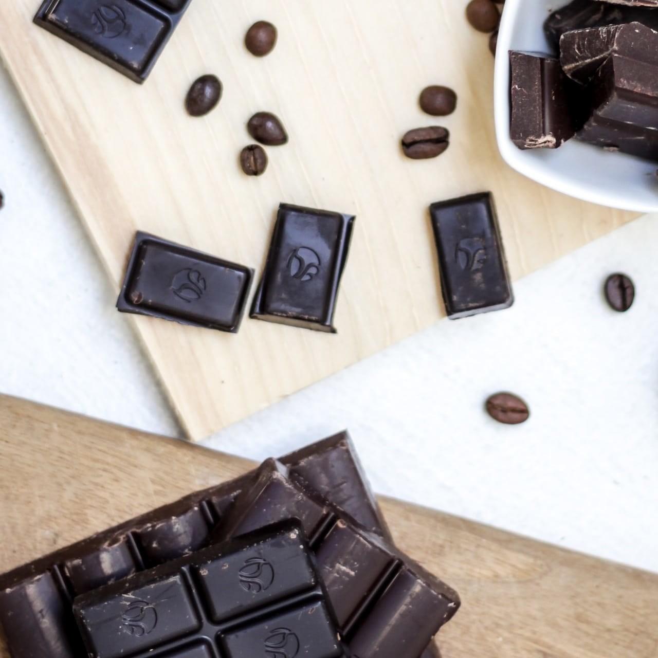 Chocolat noir, riche en antioxydants