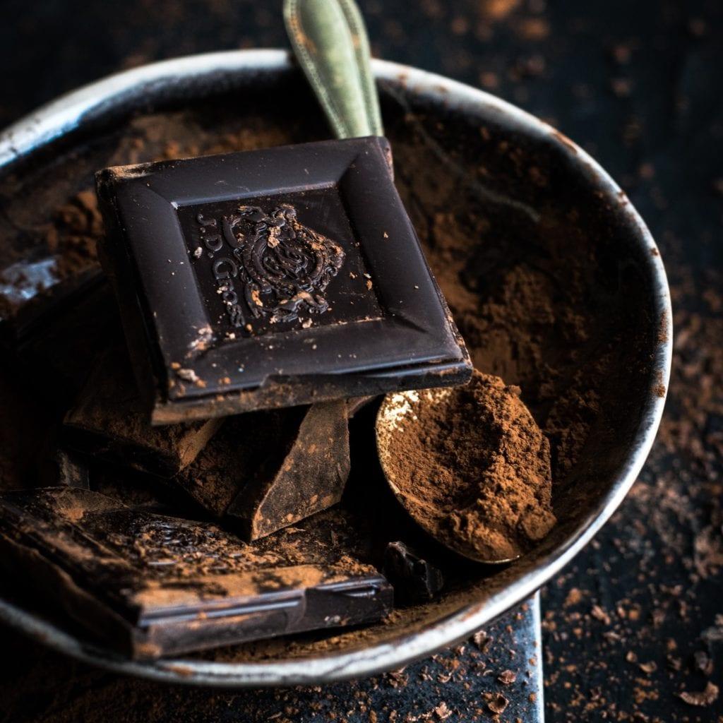 Le chocolat noir, source intéressante d'antioxydants